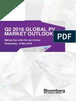 2016-05-18 - Q2 2016 Global PV Market Outlook