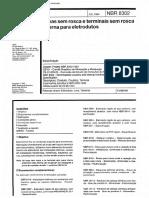 NBR 08302 - Luvas Sem Rosca E Terminais Sem Rosca Interna Para Eletrodutos