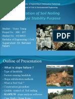 Soil Nail Thesis Presentation