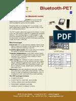 BTPET Data Sheet English