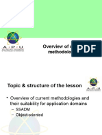 06SAAD-Overviewofcurrentmethodologies