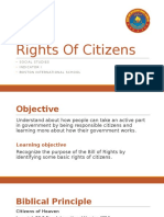 Step 4 Social Studies, Rights of Citizens PPTs