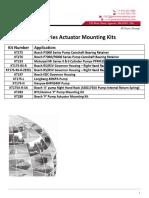 175 Series Mounting Kits