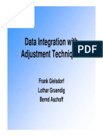 S5 4 Data Integration With Adjustment Techniques