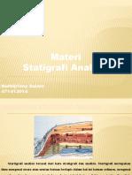 Materi Stratigrafi Analisis - Mukhlis Ramadhan