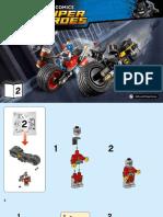 LEGO Bat Cycle (Gotham Cycle Chase)