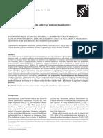 Siemsen Et Al 2012 Factors That Impact on the Safety of Patients Handovers