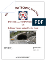 Rohtang Tunnel PROJECT