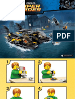 LEGO Bat Boat (Harbor Pursuit)