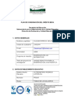 Formato Condonación de beca 2016