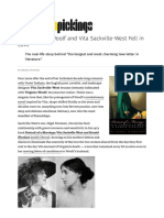 How Virginia Woolf and Vita Sackville-West Fell in Love – Brain Pickings