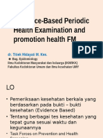 2015 Evidence-Based Periodic Health Examination and Promotion Health FM