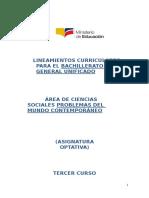 Lineamientos Curriculares Problemas Del Mundo Contemporaneo 151013