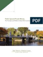 Ccpe Parks Conservancy Report