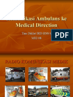 07 Communication to Medical Direction1