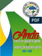 Anda Ela Agenda and Capdev Agenda 2017-2019