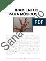 Estiramientos (Curso Ricardo Gallén)