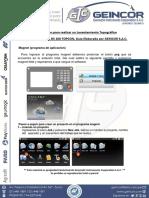 Uso Como Estacion Total_DS 205