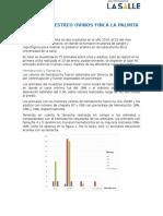 Informe Muestreo Ovinos Finca La Palmita Enero 29 Del 2016