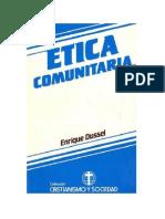 Enrique Dussel. Etica_comunitaria