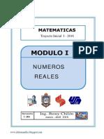 Modulo I. Números Racionales 01