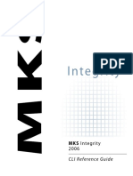 MKS Integrity 2006 CLI Reference Guide