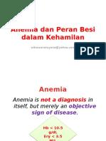 K.3 Anemia Dan Peran Besi Dalam Kehamilan