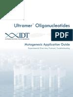 Mutagenesis Application Guide