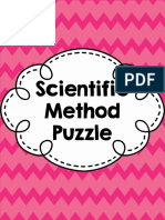 Puzzling a Hands on Look at the Scientific Method