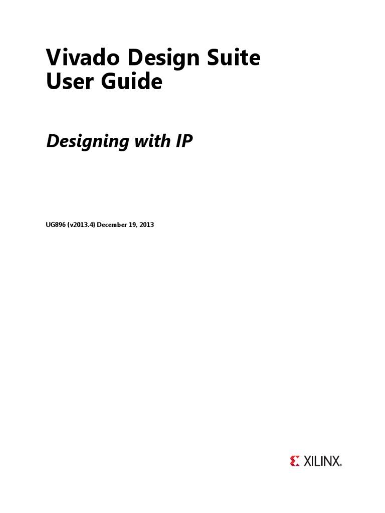 Vivado - Designing With Ip | Hardware Description Language | Zip