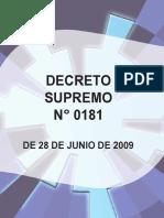 DECRETO 181 compilado