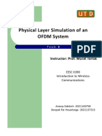 PHY Layer Simulation - OFDM System