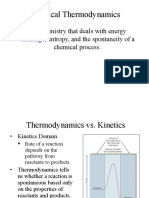 Chapter 17 - Chemical Thermodynamics (1)