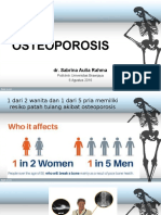 Ppt Osteoporosis