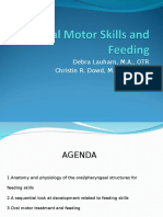 1G Oral Motor Skills and Feeding