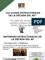 Reformas Estructurales de La Década Del 80