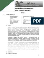 CF1805 Auditoría operativa