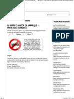 El Burro o Motor de Arranque – Problemas Comunes _ Fierros Clasicos