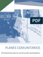 Formulación participativa Planes Comunitario.