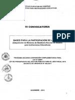 tercera convocatoria - carpetas de madera para instituciones educativas.pdf