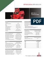 DFP4 2012 C10 Technical Data