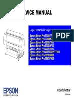 Epson Stylus Pro 9900 Service Manual