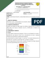Informe PH Conductividad (1)