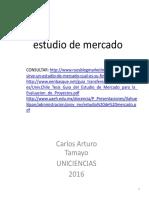 Estudio de Mercado Componentes Mayo 03 2016