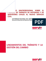 Presentacion Proceso Transito Chiclayo Set2016