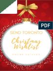 Send Toronto Christmas Wish List 2016