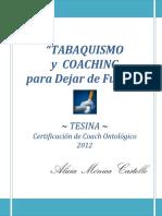 El Coaching Ontologico Aplicado Al Tabaquismo - Autor_Alicia_Castello