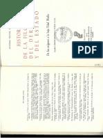 Historia de la Filosofía del Derecho y del Estado