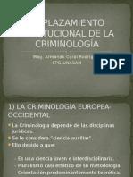 Clase 04 Emplazamiento Institucional de La Criminología