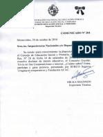 Comunicado Nº 204-Concurso on Line Cooperativismo e Internet